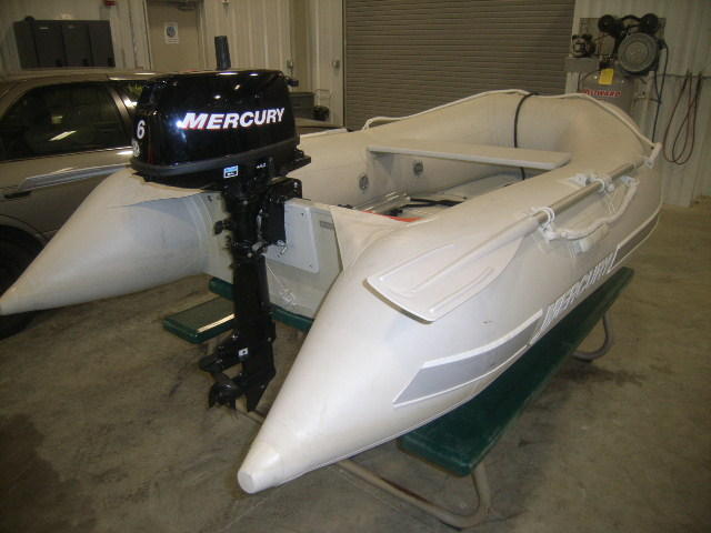 2007 MERCURY INFLATABLES 270 Sport